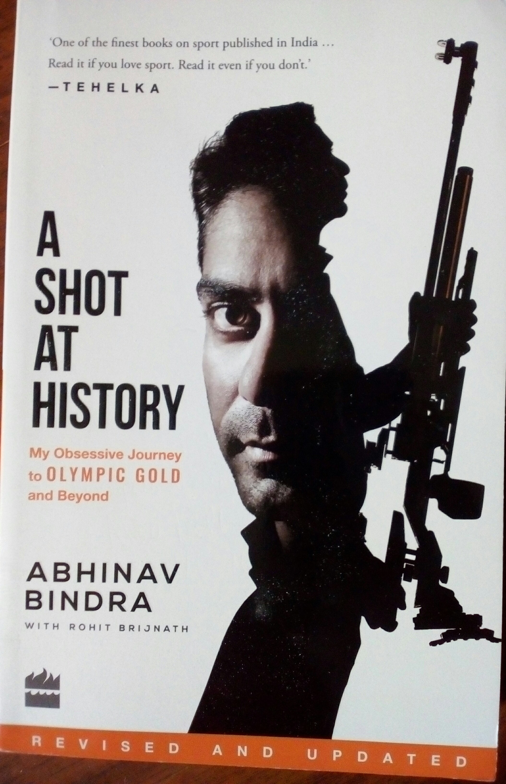 Honesty, courage thread binds updated @Abhinav_Bindra book #AShotAtHistory